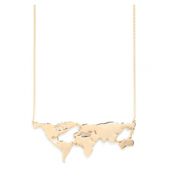 There's a Map for That Necklace - Fluent In Frolicking Shop