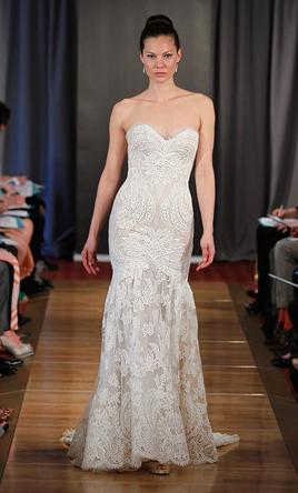 Ines Di Santo Amour, $4,949 Size: 2 | Used Wedding Dresses