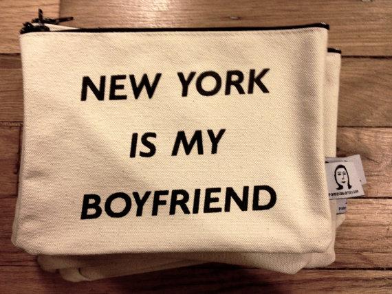 new york is my boyfriend by pamelabarskyshop on Etsy