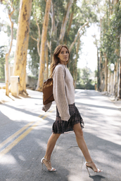 could i have that,blogger,sweater,dress,shoes,jewels