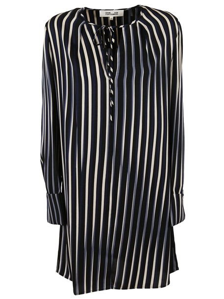 Diane Von Furstenberg dress striped dress black