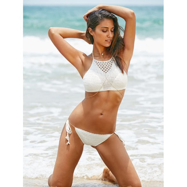 swimwear rose wholesale crochet bikini white bikini sexy crochet bikini white lace lace bikini cute girly fashion trendy