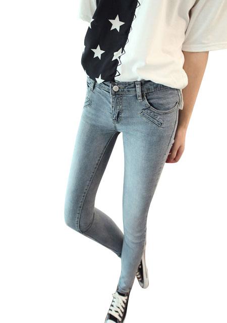 Women's new slim low waist pencil jeans online