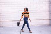 mattieologie,blogger,top,jeans,shoes,sunglasses,bag