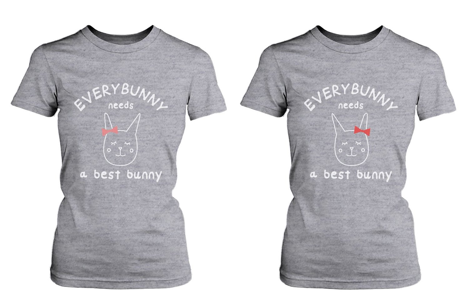 1f10bf374 Amazon.com  Cute Best Friend T Shirts - Everybunny Needs a Best ...