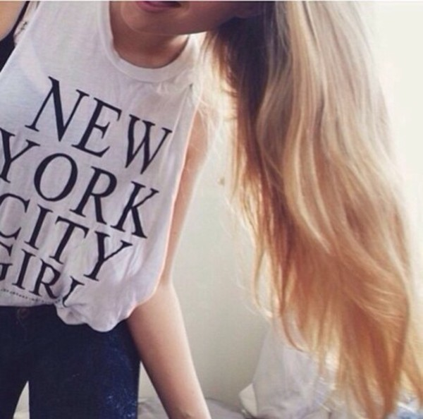 new york city girl relaxed fit tshirt tumblr tee tshirt