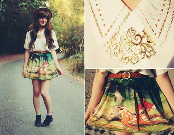 disney skirt cute
