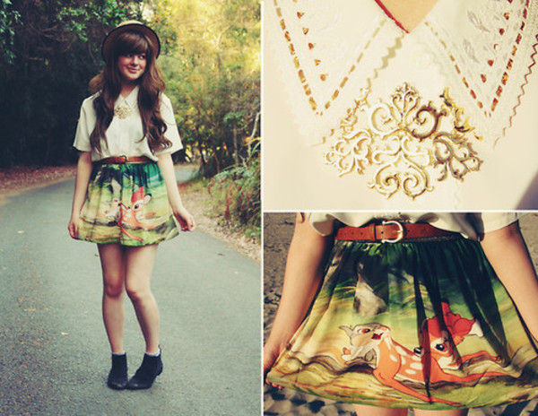 cute skirt disney