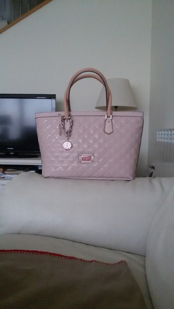 Light Pink Guess Handbag