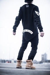 t-shirt,blvck,menswear,nike,tumblr,hood by air,urban menswear,shoes,boots,timberland,mens shoes,mens