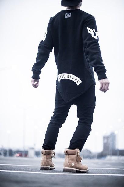 t-shirt blvck menswear nike tumblr hood by air urban menswear shoes boots timberland menswear mens shoes mens