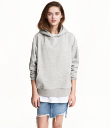 Get To Buy For Sale H&M Oversized hooded top New Lower Prices ktLa85J3zA