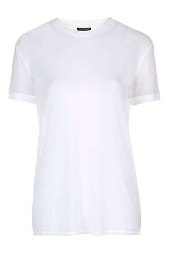 t-shirt mesh top