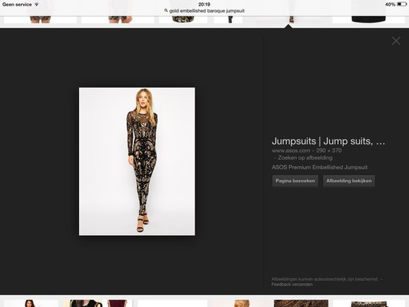 jumpsuit gold emelishment jumpsuit