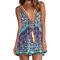 Camilla short v neck drawstring dress in artesania | revolve