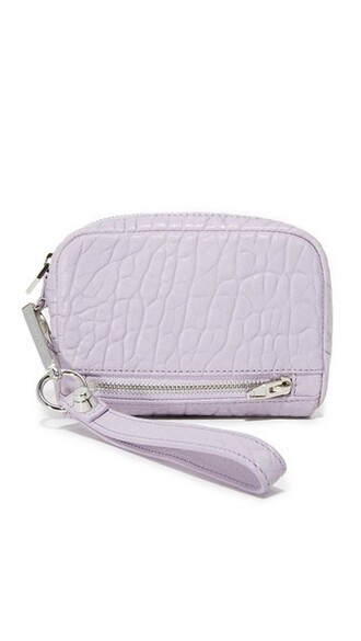 clutch lavender bag