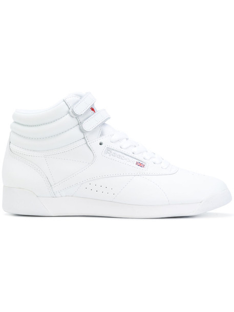 reebok women sneakers leather white cotton shoes