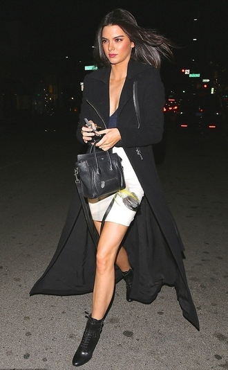 kendall jenner boots fall outfits boties skirt
