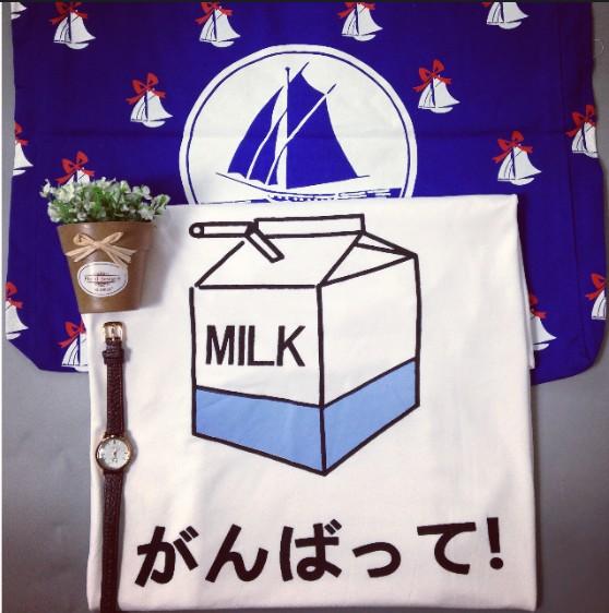 2014 jp harajuku мягкая молоко печатный рисунок печать свободно с коротким рукавом тройник, принадлежащий категории футболки и относящийся к одежда и аксессуары для женщин на сайте aliexpress.com
