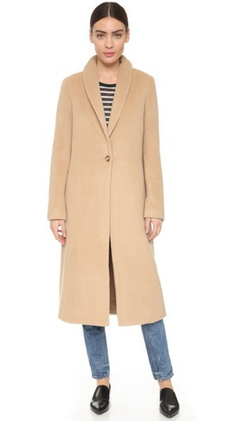 coat long coat long camel