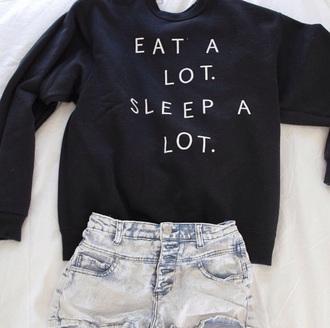 sweater black sweater tumblr sweater
