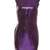 Brigita High Shine Sequin Dress In Purple | iKrush