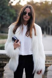 jacket,luxury,fur,fur coat,wow,coat,faux fur,white