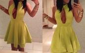 bebe,bebe dress,turtleneck dress,high neck dress,v neck dress,cut-out dress,bodycon,side boob dress,taupe