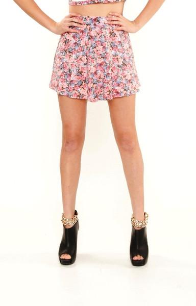 Flora Skater Skirt