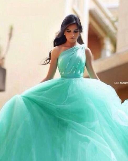 Dress Blue Dress Turquoise