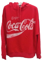 sweater,cocacola hoodie