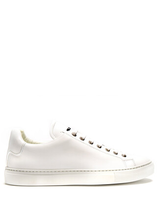 top leather white