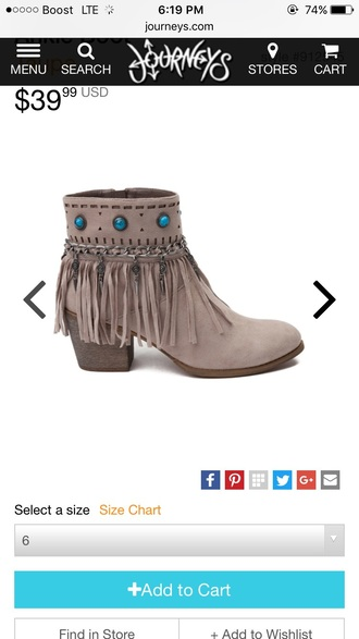 shoes brand fringe shoes grey boots ankle boots