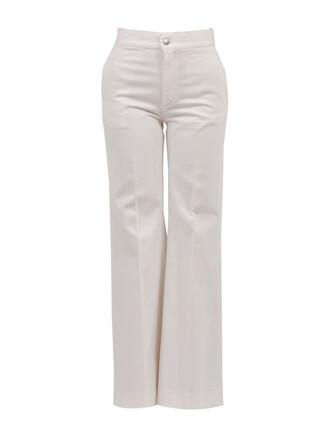 pants flare pants flare white