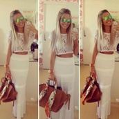 skirt,lång kjol