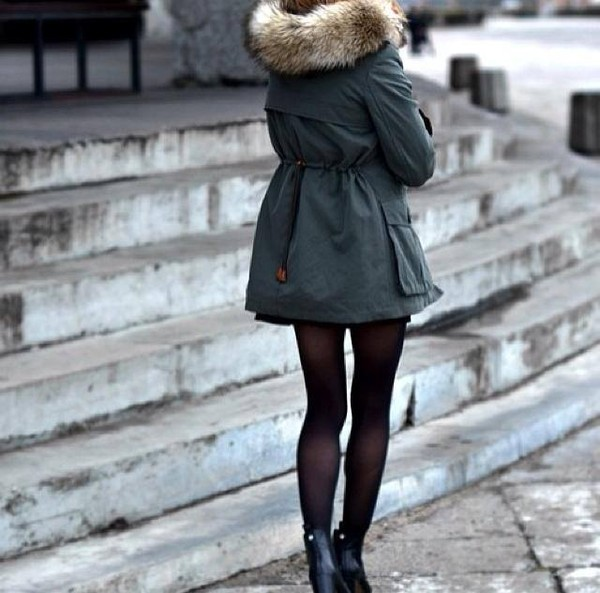 coat green warm jacket fluffy winter jacket navy green faux fur jacket fur trim hood green parke fur hood army green jacket anycolour this exact jacket please love boots tights green jacket fashion classy girly fall outfits green kaki khaki cold snow green coat fur black shoes fur coat outside shoes black heels heels black collants
