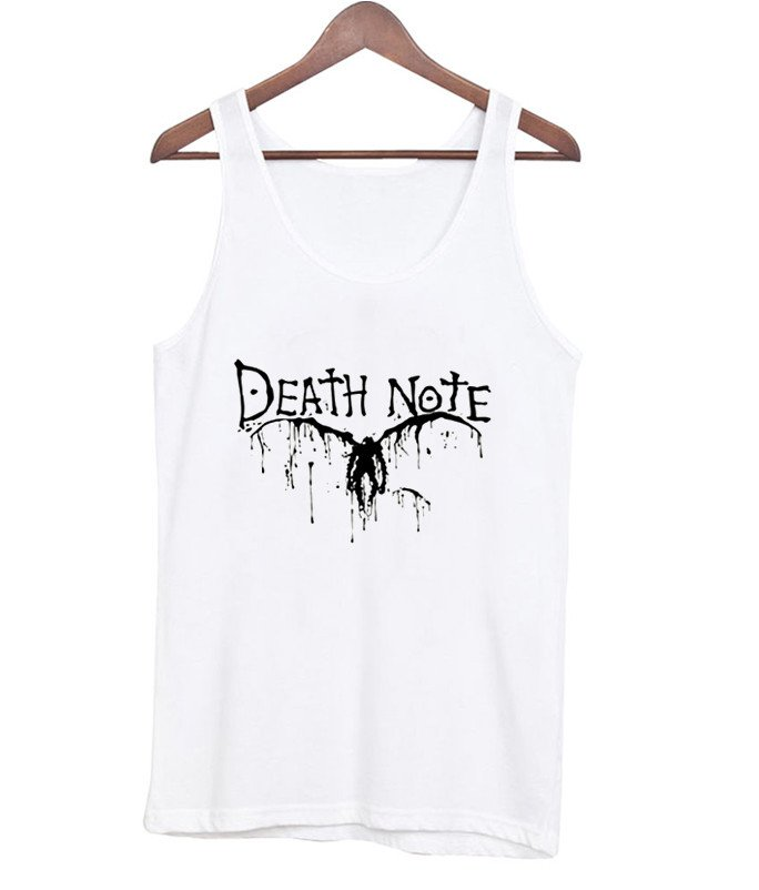 death note tanktop black