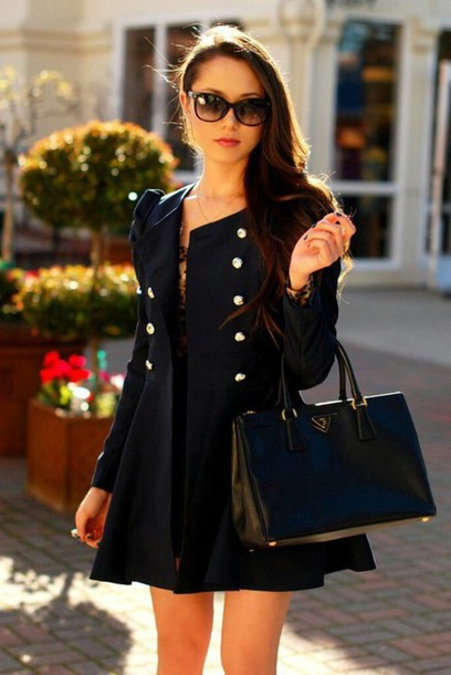 coat classy outfit