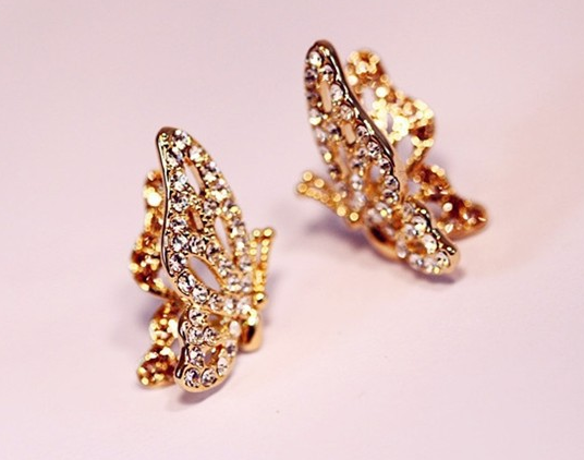 Butterfly Earring - Wishbop.com