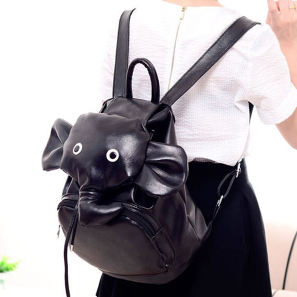 elephant cute bag pet