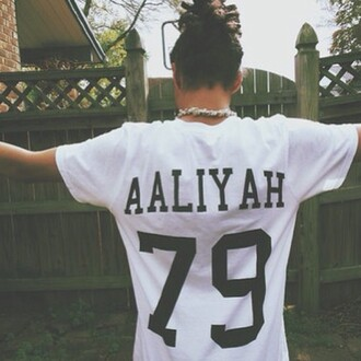 t-shirt 1979 79 dreads outside aaliyah r.i.p jersey trill jeans jewels
