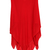 ROMWE | ROMWE Asymmetric Shoulder Sleeveless Red Dress, The Latest Street Fashion