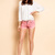 Ts 2013 summer fashion women's sweet candy color fashion denim shorts pink-inJeans from Apparel & Accessories on Aliexpress.com
