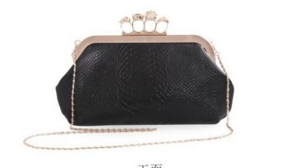 bag black clutch