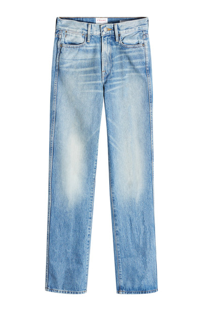 Frame Denim Rigid Re-Release Le High Straight Jeans  in blue