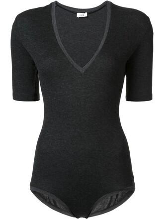 bodysuit women spandex black underwear