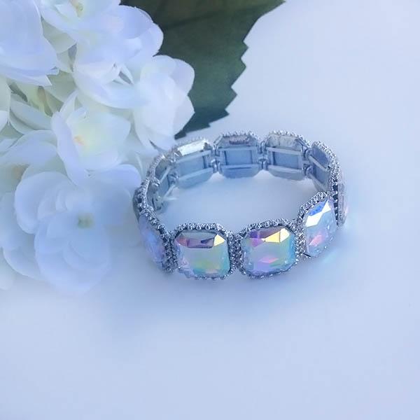 Cinderella glass bracelet