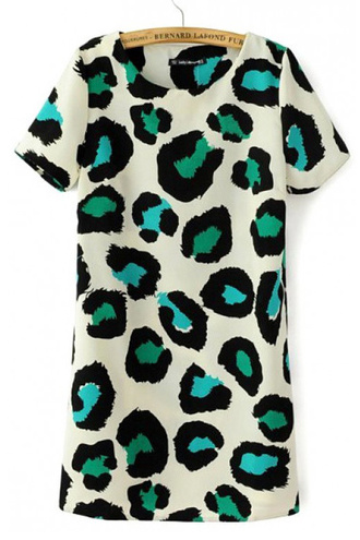 dress brenda shop leopard print animal print tunic dress tunic colorful