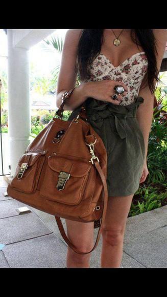 bag brown beautiful
