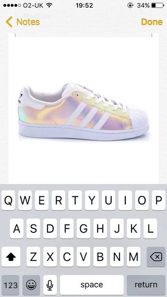 shoes adidas holographic holographic adidas superstars adidas shell toe  adidas originals adidas supercolor b28df62c8